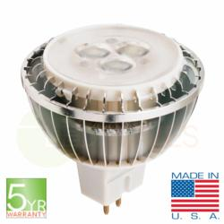 CA LED MR16 5yr warranty Made in USA